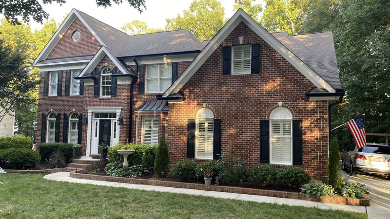 New Gutter Installations Wake Forest NC